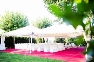 Ceremonia civíl en Casona da Torre Vigo Redondela jardines
